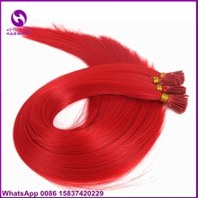 Hair extension classes online shopping the world largest hair 50pcs 22inch 1gram red synthetic stick i tip italian keratin bond hair extensions for training class pmusecretfo Image collections