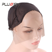 Cap Mesh Wigs Lace-Wig Plussign Wig-Caps Ventilating Stretch Making Full-Lace with