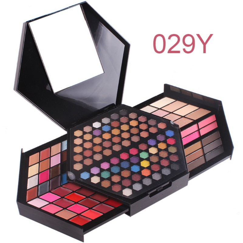 Professional Makeup Kit Matte Color and Shimmer Eyeshadow Palette Highlighter Powder For Face Concealer Blush Kit все цены