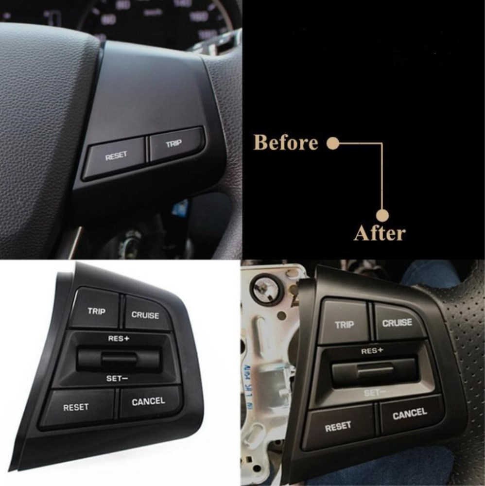 Image 2 - Steering Wheel For Hyundai ix25 creta 1.6 Buttons Bluetooth Phone Cruise Control Remote Control button The Right Side-in Car Switches & Relays from Automobiles & Motorcycles
