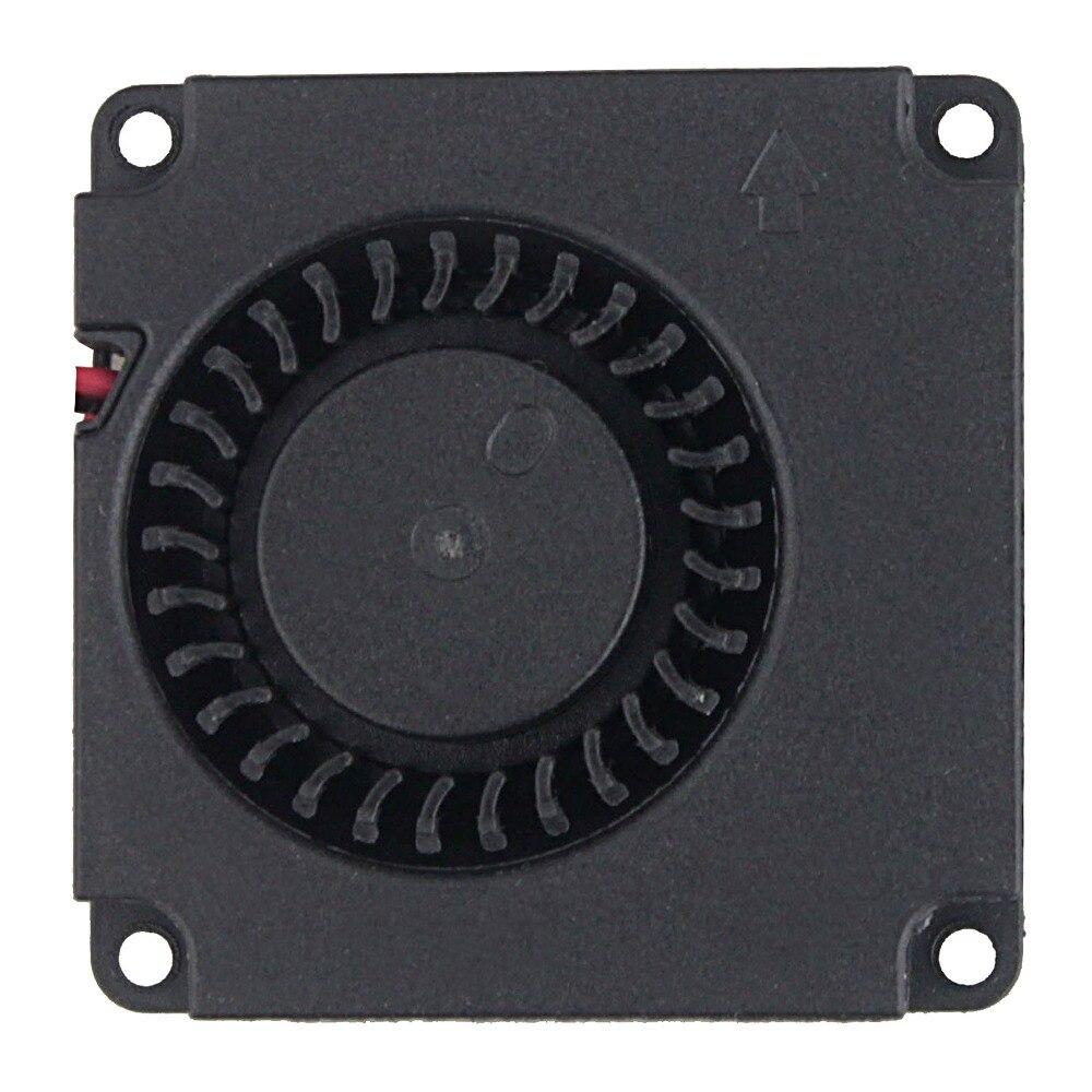 2 шт. Gdstime 40 мм 3d принтер вентилятор 12 в 24 в 5 В 4010 вентилятор для принтера охлаждающие аксессуары DC турбо вентилятор Радиальные Вентиляторы 40x40x10 мм