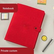 Caderno grande espiral nota livro a4 planejador binder diário memorandos agenda organizador bloco de notas material escritório da escola