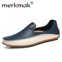 Big Size 38-47 Men Loafers Comfortable Men's Flats Top Quality Brand