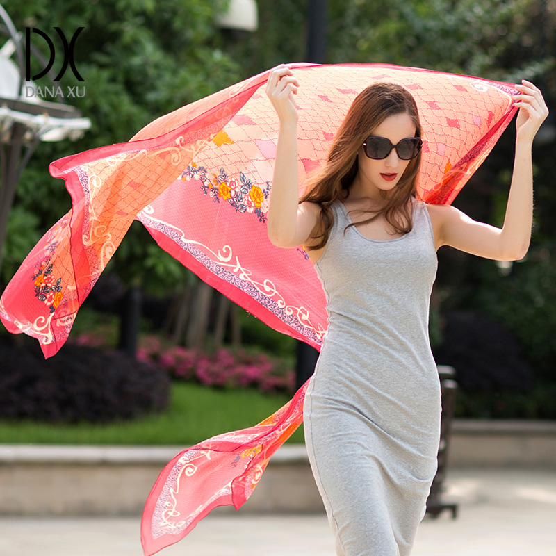 Woman Muslim Hijab Female Summer Sunscreen Silk Scarf Bandana Women Fashion Foulard Face Shield Pareo Beach Blanket pashmina