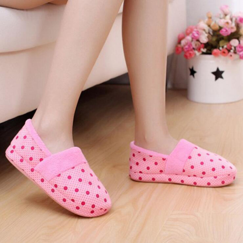 winter home slippers plush thermal shoes woman pregnant shoes soft yoga shoes flats women slip on loafers indoor pantufas