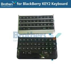 Klawiatura dla BlackBerry Keytwo Key2 klawiatura przycisk z kablem Flex dla BlackBerry Key2 części zamienne do telefonów czarny srebrny AAA|Klawiatury do telefonów komórkowych|Telefony komórkowe i telekomunikacja -