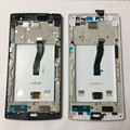 LCD screen display + touch digiziter with frame For OPPO X9007 Find 7 X9007 Black or white Free shipping