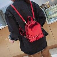 AUAU-корейский стиль сумка женская для прилива Мини рюкзаки карамельный цвет студенческий маленький рюкзак летний дорожный рюкзак