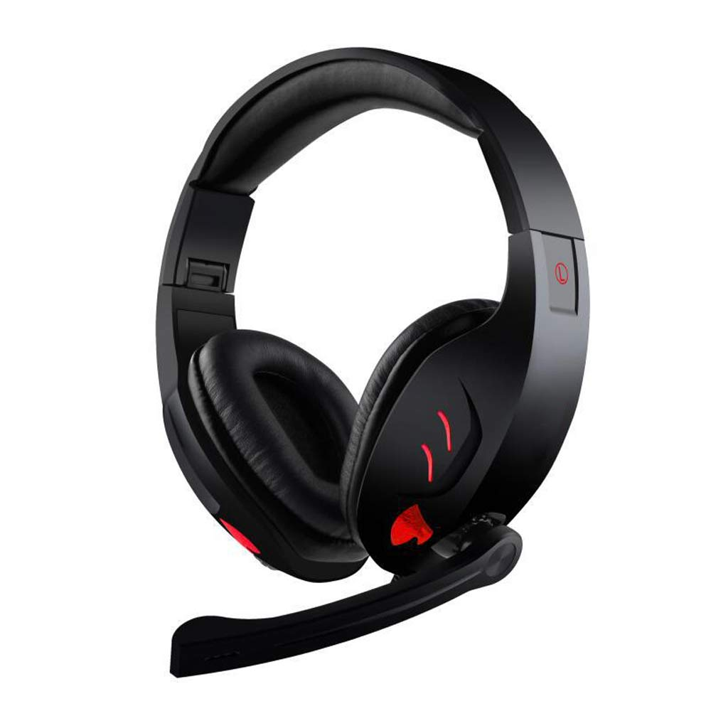 Hot Sell Super Bass Headset LED Headphones Gaming Headphones with HD Microphone Computer Game Earphone For Iphone Xiaomi  Gamer hot sell brand new for g skill ddr3 1600 8g 2 ram for desktop computer overclocking f3 12800cl10d 16gbxl