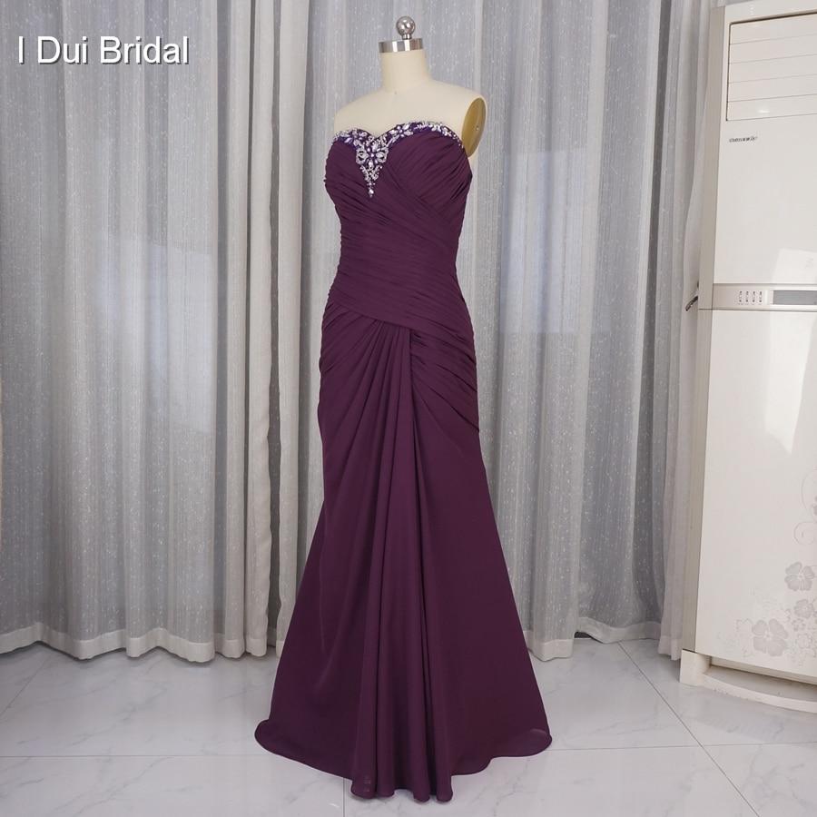Mor brudklänningar med Tulle Jacket Halvärmad Bolero En linje - Bröllopsfestklänningar - Foto 2