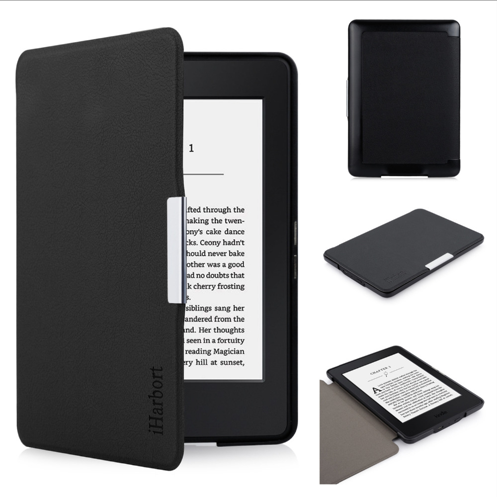 купить Protective Case for Amazon Kindle Paperwhite, iHarbort PU Leather Case smart Cover For Kindle Paperwhite недорого