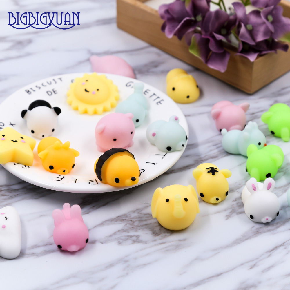 20pcslot Phone Straps Kawaii Squishy Mini Cute Lazy Cats Animals Seals Decompress Slow Clever Soft Hand Pinch  Kid Gifts Strap