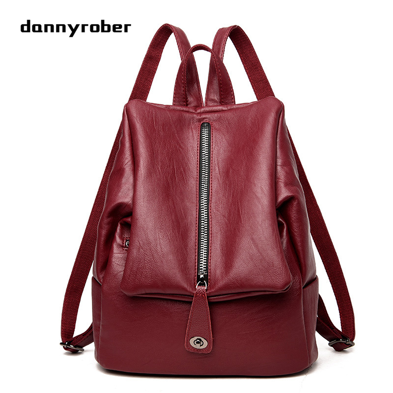 New Designer Women Single & Double Shoulder Bags Travel Bag High Quality PU Leather Lady School Bag Backpack Mochilas Mujer 2017 2017 new fashion designer women backpack women travel bags vintage school shoulder bag motorcycle bag mochila feminina