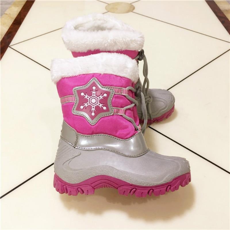 Fashion 2017 girls winter font b boots b font children Girls font b Boots b font