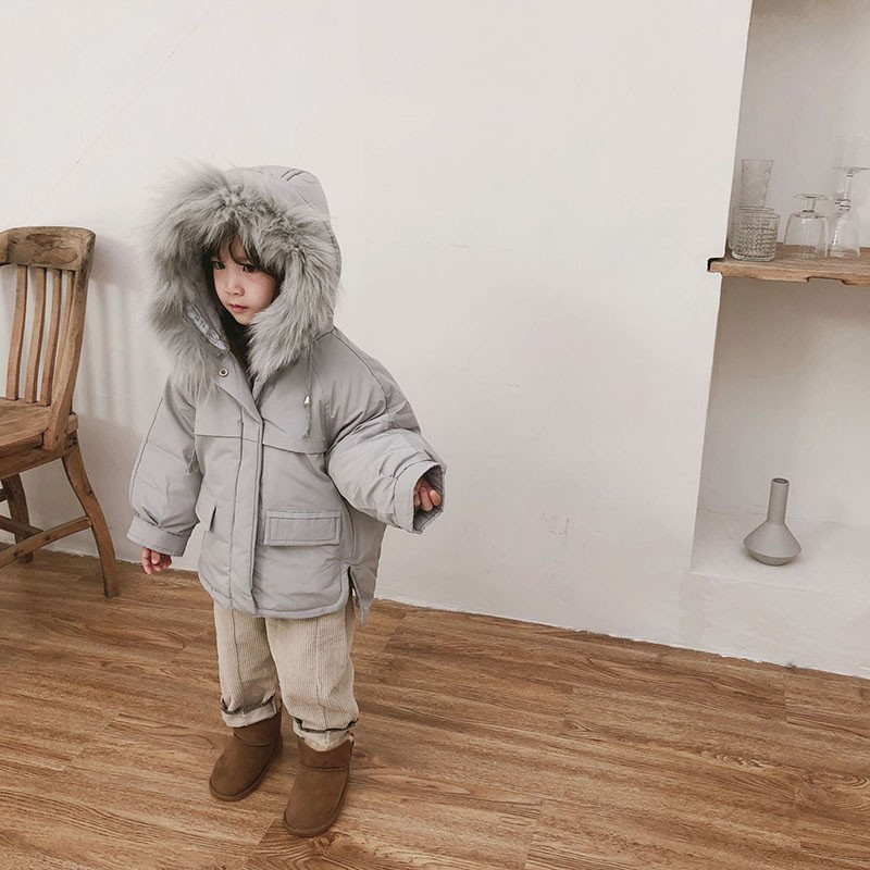 Cotton Padded Princess Winter Coats For Girls 8 6 4 3 2 Year Baby Girl Winter Clothes Thick Boys Kids Jackets Winter Outerwear zofz kids jackets for girls spring coats cotton zipper outerwear printed hooded boys sweatshirts 2 years old baby girl clothes