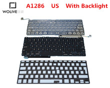Genuine New A1286 US Keyboard For Macbook Pro 15″ 2009-2012 Year With Backlight Language version US Replacement