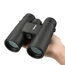 Military HD 10x42 Binoculars Professional Hunting Telescope Zoom High Quality Vision No Infrared Eyepiece High-powered Telescope цена