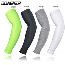 ARSUXEO Compression Sleeves Arm Warmer Running Sleeves Cycling Sun UV Protection for Outdoor Sport Hiking Ciclismo 1 Pair cheap Polyester DONGKER 37-43CM S M L XL XXL Arm Warmers arm warmer sport Cycling Running Arm Warmer running sleeves Elastic Armwarmers Sunproof