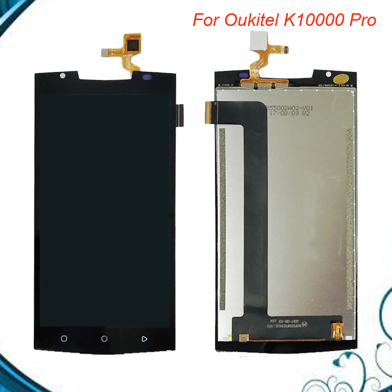 For Oukitel K10000 Pro LCD Display and Touch Screen Android 7.0 Perfect Repair Parts 5.5 Inch+Tools