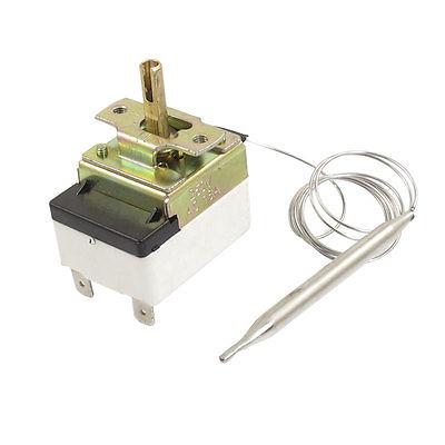 AC 250V 16A 30-110C Temperature Thermostat Switch Sensor w 25.2 Capillary 250v 20a 3 pin terminals temperature control switch capillary thermostat part
