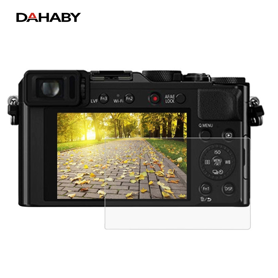 DAHABY For Panasonic DMC-LX100 Camera LCD protector Toughened Tempered Glass Screen Film For Panasonic GH5 Camera Glass