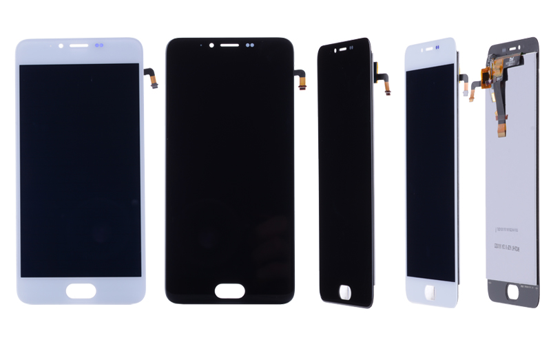 5.2 Original  LCD For MEIZU M5 Display Touch Screen Digitizer with Frame M611H Display Module For MEIZU M5 LCD Replacement (2)