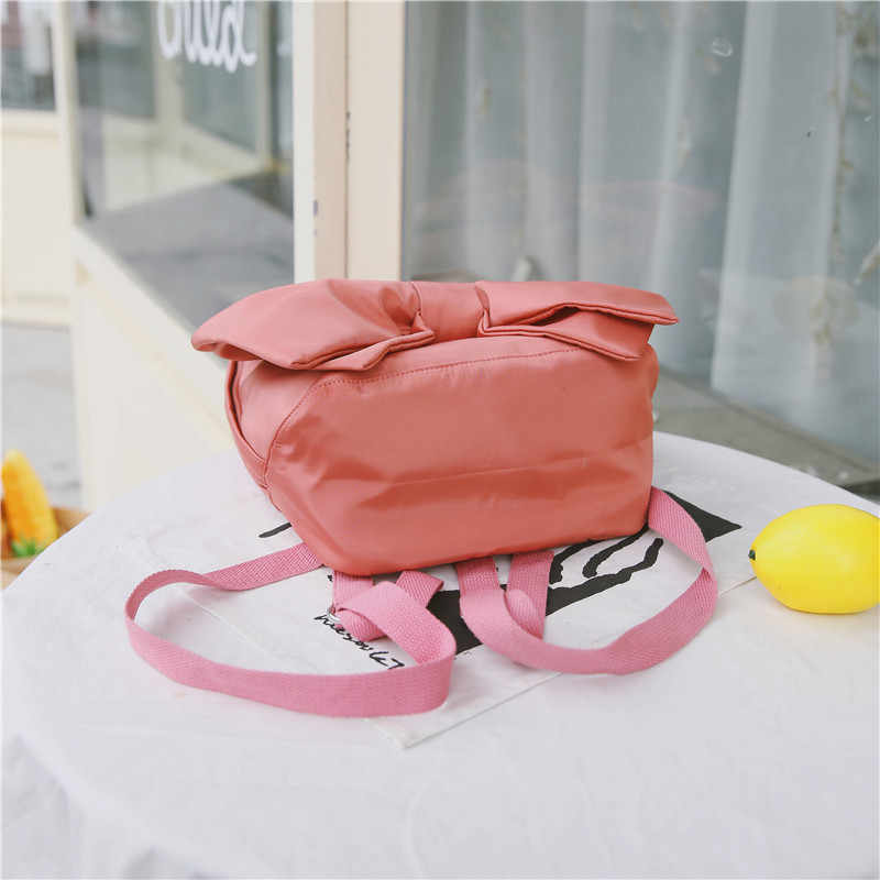 Kpop милые банты женские рюкзаки водостойкие школьная сумка из нейлона для девочек подростков женские дорожный Рюкзак mochila женские