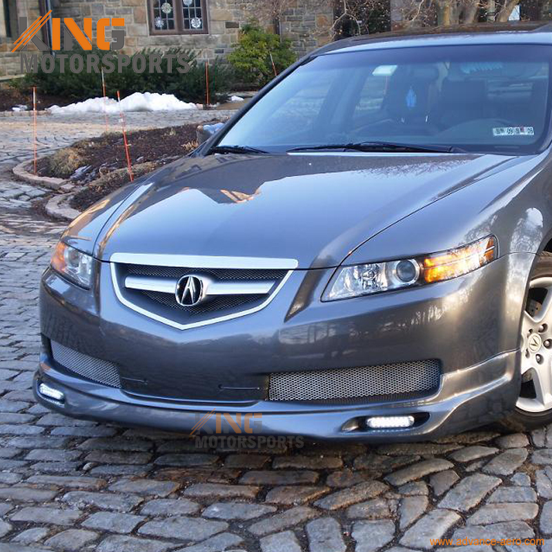 fit for 04 05 06 acura tl base sedan 4dr jdm front bumper lip