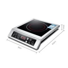 Жаровня индукционная плита 3500 Вт 220 В высокомощная Коммерческая батарея плита горячая супница домашняя готовка