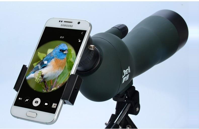 24 49mm full metal universelle phone halter halterung für teleskop