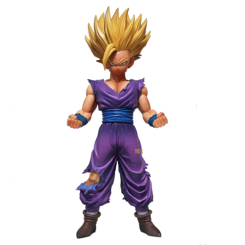 Anime Dragon Ball Z Super Saiyan Son Gohan Action Figure Juguetes - Խաղային արձանիկներ
