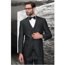 2016 Custom Made Handmade 3 Piece Men's Slim Fits Suits Wedding Suits Groom Suits Bridal Tuxedos Formal Evening Suits