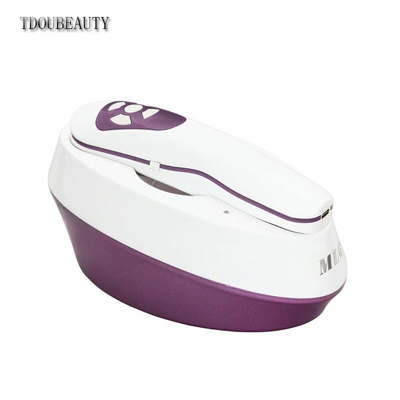 TDOUBEAUTY technologie de charge sans fil WI-FI sans fil peau et cuir chevelu analyseur automatique crème de peau BM-999 pour les coupures et les brûlures de la peau (violet)