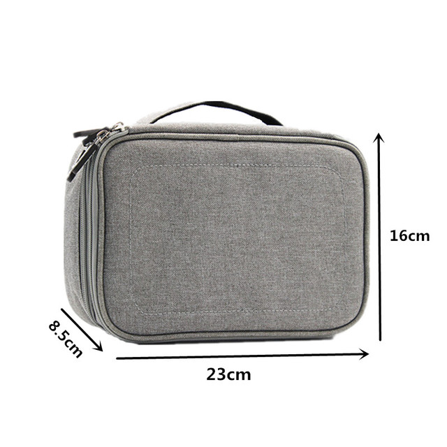 Men Women Travel Digtal Bag Data USB Cable Charger Mobile Power Earphone Sorting Pouch Cases Organizer Accessory Storage Product