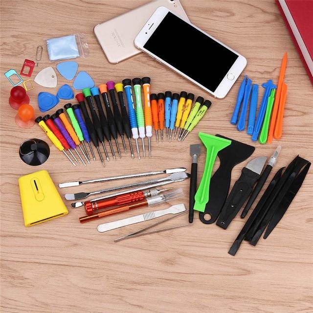 Factory Price Binmer 60 IN1 Mobile Repair Opening Tools Kit Set Pry Screwdriver For iPhone 7 Sept16