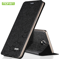 For One Plus 3 Case Mofi Water Cube Design Fit All Around Shock Resistant Leather In
