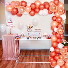 PATIMATE Happy Birthday Balloons Decoration Party Supplies Wedding Decors Ballons Combination Helium Gold Latex