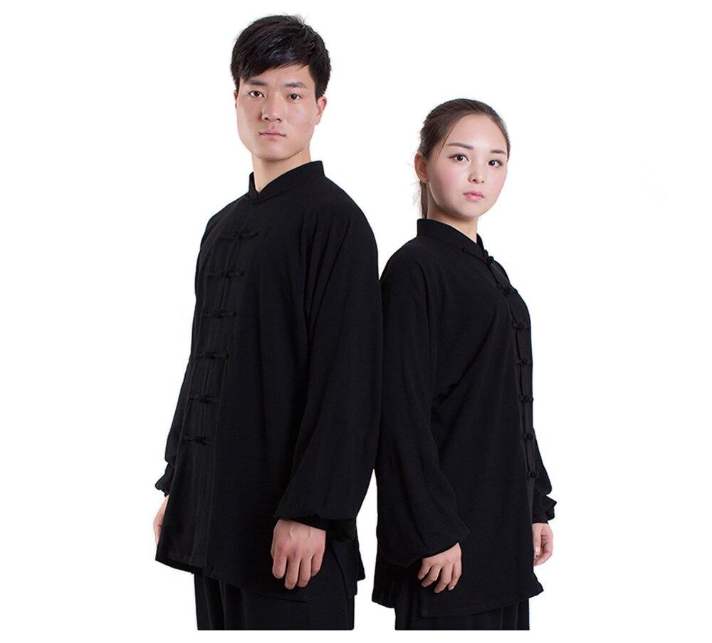 2017 hohe Qualität Baumwolle Tai Chi Kung-fu-uniform Wushu Kleidung Übung Bekleidung Kampfsport Anzug Jacke + Pants