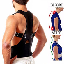 New Hot Adjustable Posture Support Brace Magnet Therapy Straps Back Neck Corrector Spine Dropshipping