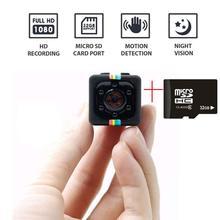 mini Camera SQ11 1080P HD small cam Sensor Night Vision Camcorder Micro video Camera DVR DV Motion Recorder Camcorder SQ 11 cheap 1080P (Full-HD) CMOS sq11 mini camera MicroSD TF ZBR SPY
