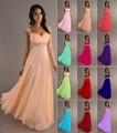 stock A-line sweetheart elegant off-shoulder cheap bridesmaid dresses Wedding party dresses  robe de soiree