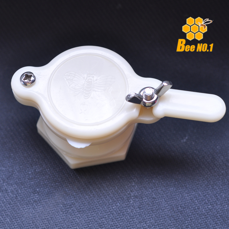 Høj kvalitet Plast Honey Gate Valve Honning Extractor Honning Tap Beekeeping Bottling Tool Bee Holder Udstyr