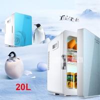 F L18SA Portable Freezer 20 L Mini Fridge Refrigerator Car Home A Dual Use Compact Car