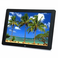 15 HD 15inch TFT LCD 1280*800 Digital Photo Frame Picture Album Clock MP3 MP4 Movie AD Player with Remote Desktop