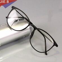 Lunettes en tungstène titane pour homme et chat, monture Vintage, monture, pour myopie, Prescription lunettes optiques, verres transparents