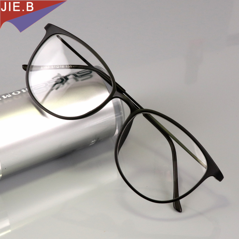 Tungsten titanium Briller Mænd Kat Vintage Glasögon Ramme Kvinder Myopi Briller Prescription Eyewear Optisk klar Briller