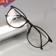 Tungsten titanyum erkek retro gözlük çerçeve kadın kedi gözü miyopi reçete gözlük optik bilgisayar gözlükleri Gafas