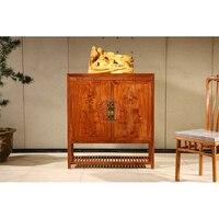 Antique mahogany furniture Home Shoe Cabinets Shoe Shelves Entryway Locker Wardrobes Room Furniture Shoe Rack