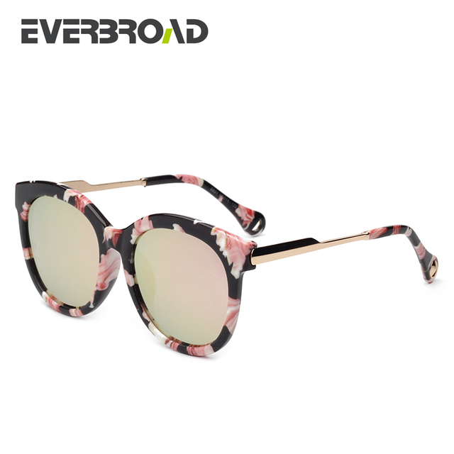 176e38a57 Colorful Flower Sunglass Frame Round Shape Lens Oculos Masculino Vintage  Women Sunglasses Package EV2772