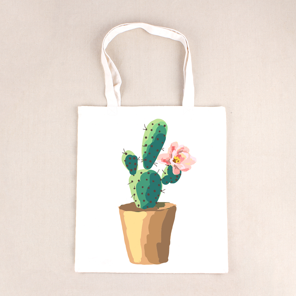 Large Capacity Summer Beach Bag Lady 3D Cactus Flower Printed Shoulder Bag Female Tote Handbag Women Shopping Bag BB273 сумки для детей zipit сумка premium tote beach bag